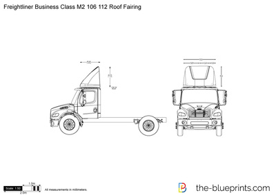 Freightliner Business Class M2 106 112 Roof Fairing