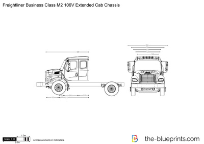 Freightliner Business Class M2 106V Extended Cab Chassis