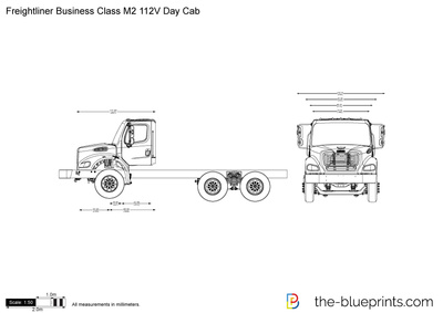 Freightliner Business Class M2 112V Day Cab