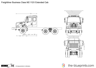 Freightliner Business Class M2 112V Extended Cab