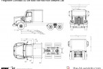 Freightliner Coronado SD Set Back Axle Mid-Roof Sleepers Cab