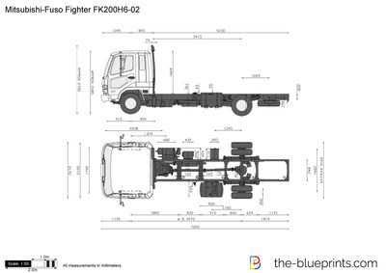Mitsubishi-Fuso Fighter FK200H6-02