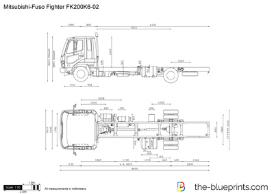 Mitsubishi-Fuso Fighter FK200K6-02