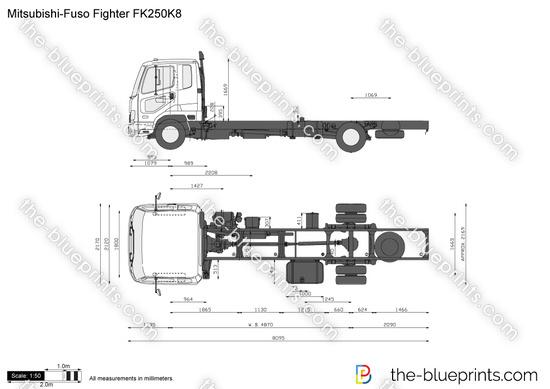 Mitsubishi-Fuso Fighter FK250K8