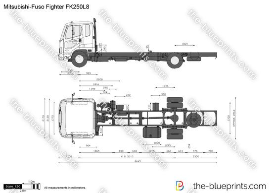 Mitsubishi-Fuso Fighter FK250L8