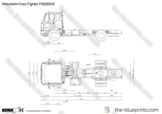 Mitsubishi-Fuso Fighter FM280H8