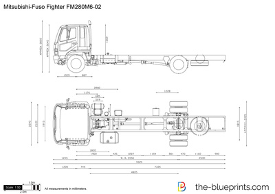 Mitsubishi-Fuso Fighter FM280M6-02