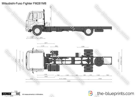 Mitsubishi-Fuso Fighter FM281M8