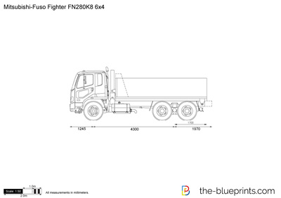 Mitsubishi-Fuso Fighter FN280K8 6x4