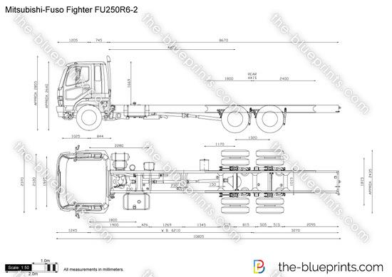 Mitsubishi-Fuso Fighter FU250R6-2
