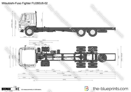 Mitsubishi-Fuso Fighter FU280U6-02