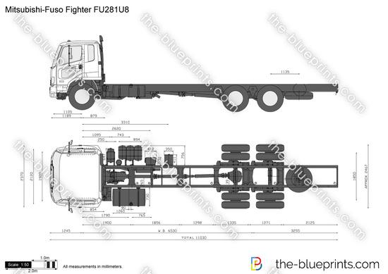 Mitsubishi-Fuso Fighter FU281U8