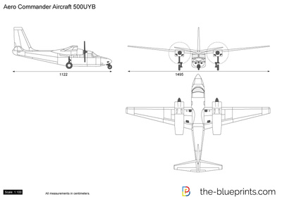 Aero Commander Aircraft 500UYB