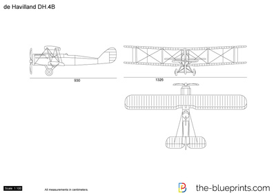 de Havilland DH.4B