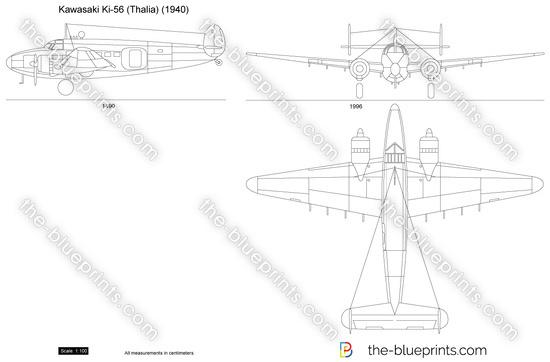 Kawasaki Ki-56 (Thalia)