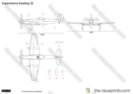 Supermarine Seafang 32