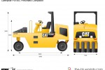 Caterpillar PS150C Pneumatic Compactor
