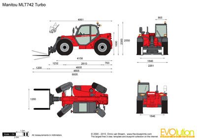 Manitou MLT742 Turbo