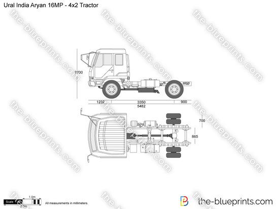Ural India Aryan 16MP - 4x2 Tractor