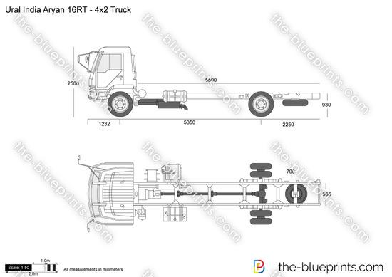 Ural India Aryan 16RT - 4x2 Truck