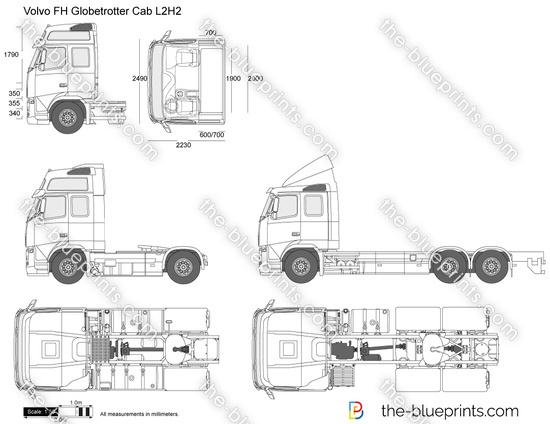 Volvo FH Globetrotter Cab L2H2