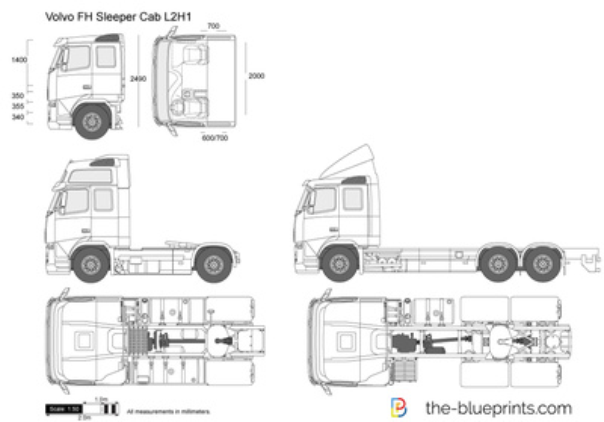 Volvo FH Sleeper Cab L2H1