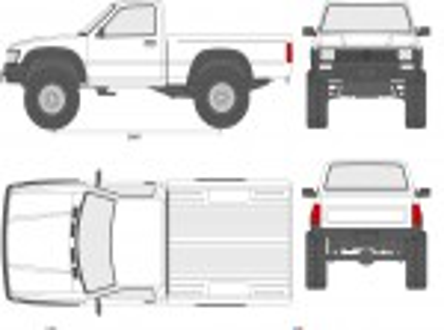 Toyota HiLux Pick-Up Mk. IV 4WD