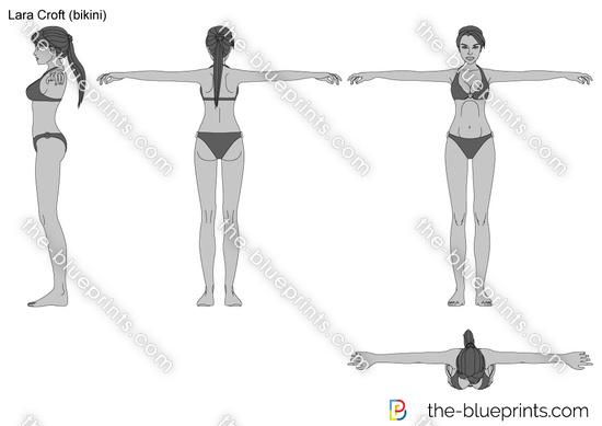 Lara Croft (bikini)