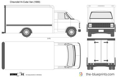 Chevrolet Express Hi-Cube Van (1990)