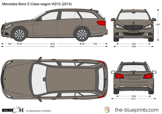 Mercedes-Benz E-Class Wagon W212