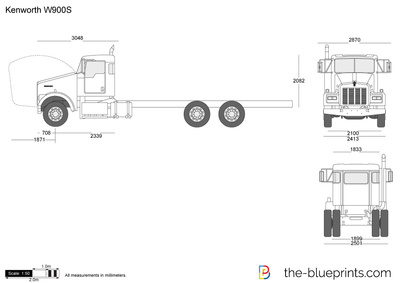 Kenworth W900b Wiring Diagram as well Tractor Trailer Dimensions also Kenworth T300 Wiring Diagram Radio furthermore 1966 Kenworth W900 Wiring Diagram moreover Taylor Dunn Cart B0 248 48 Wiring Diagram. on kenworth w900b