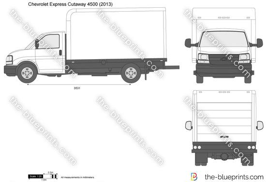 Chevrolet Express Cutaway 4500