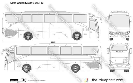 Setra ComfortClass S 515 HD