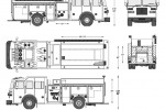 Sutphen Monarch Heavy Duty Custom Pumper Fire Truck