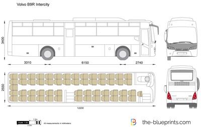 Volvo B9R Intercity