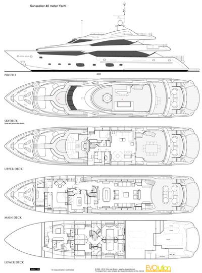 Sunseeker 40 meter Yacht