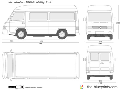 Mercedes-Benz MB100 LWB High Roof