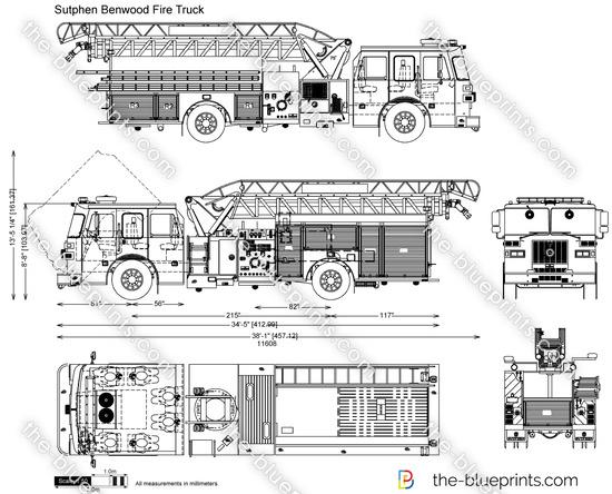 Sutphen Benwood Fire Truck