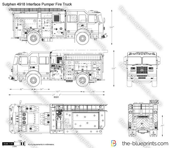 Sutphen HS-4918 Interface Pumper Fire Truck