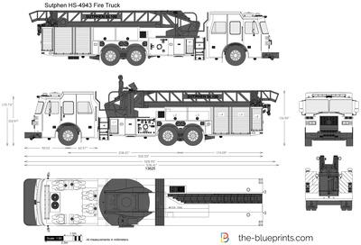 Sutphen HS-4943 Fire Truck