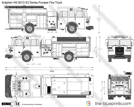 Sutphen HS-5013 S3 Series Pumper Fire Truck