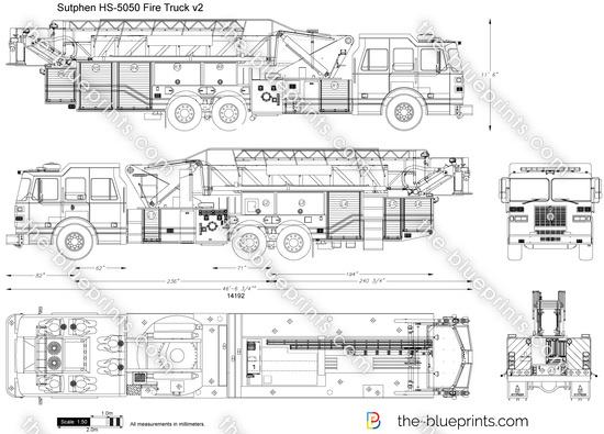 Sutphen HS-5050 Fire Truck