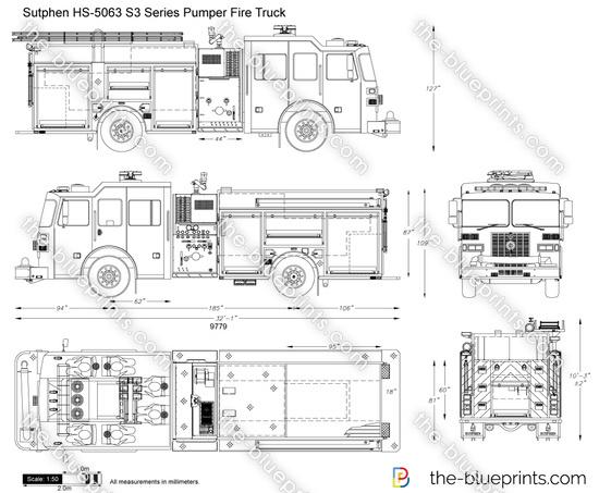 The Blueprints Com Vector Drawing Sutphen Hs 5063 S3