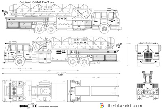 Sutphen HS-5149 Fire Truck