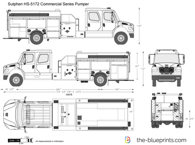 Sutphen HS-5172 Commercial Series Pumper