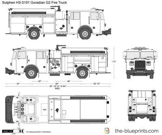 Sutphen HS-5191 Guradian G2 Fire Truck