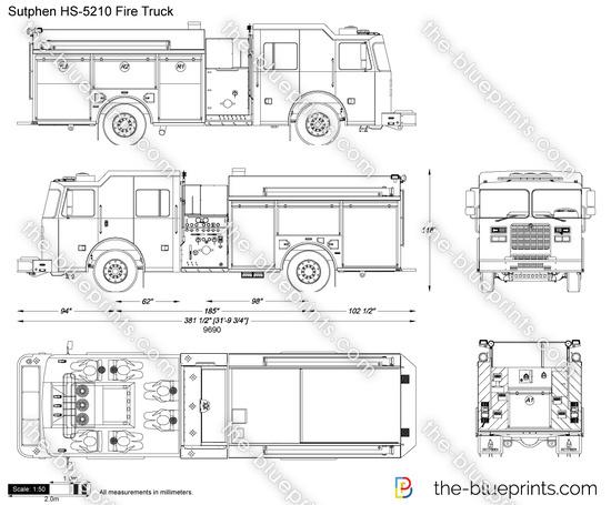 Sutphen HS-5210 Fire Truck