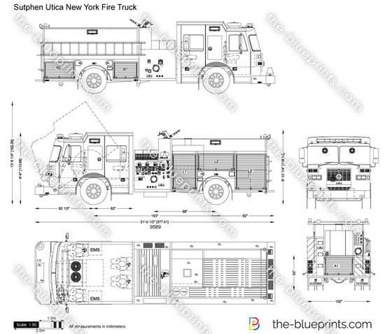 Sutphen Utica New York Fire Truck