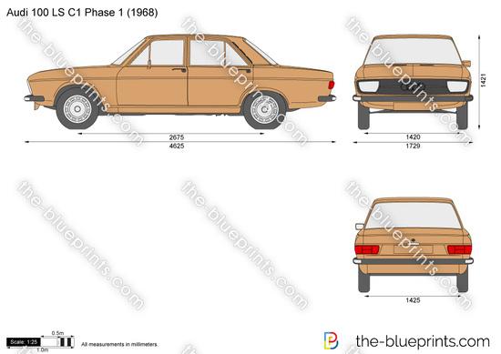 Audi 100 LS C1 Phase 1