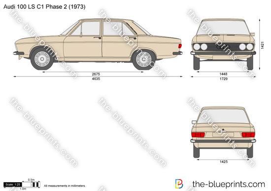 Audi 100 LS C1 Phase 2